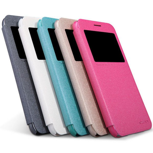 [US$7.29] NILLKIN Sparkle Leather Case Cover For Samsung Galaxy Grand Max G7200  #case #cover #g7200 #galaxy #grand #leather #nillkin #samsung #sparkle