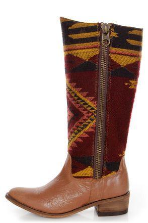 aztec boots
