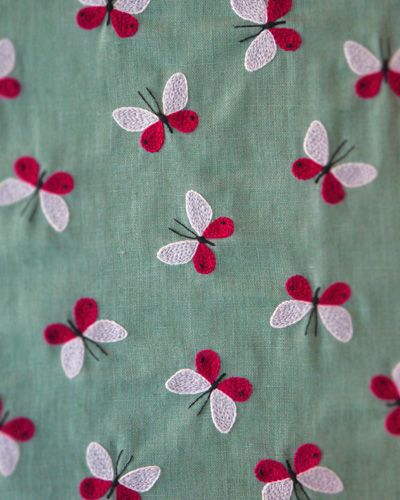 Butterfly Embroidery by yumiko higuchi