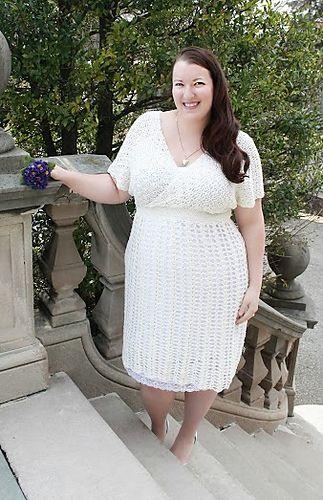 Curvy Crochet Volume One Wedding Dress PatternWedding