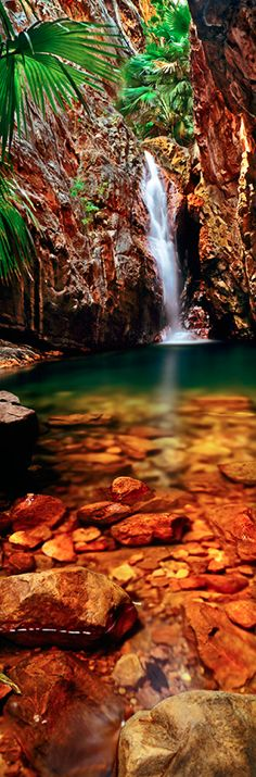 Questro Gorge Falls at El Questro Station in East Kimberley, Western Australia • Adam Monk Photography