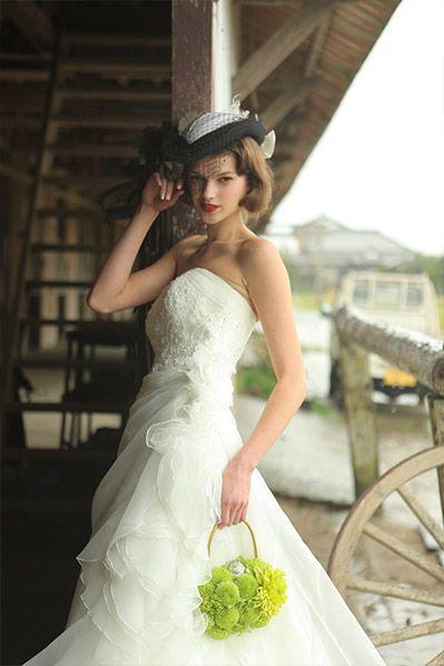マーメイドドレス・スレンダードレスにオススメの髪型・ボブ・ショート・ミディアムの参考一覧❤