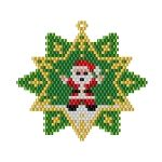 ThreadABead Santa Star