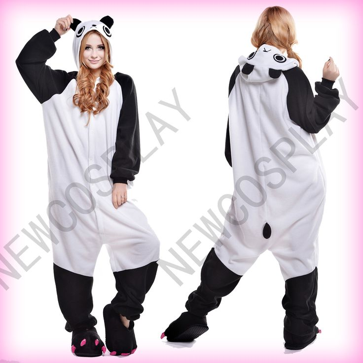New Adult Animal Kung Fu Panda Costume Cosplay Anime Pajamas Onesie Sleepwear in Clothing, Shoes & Accessories, Costumes, Reenactment, Theater, Costumes | eBay