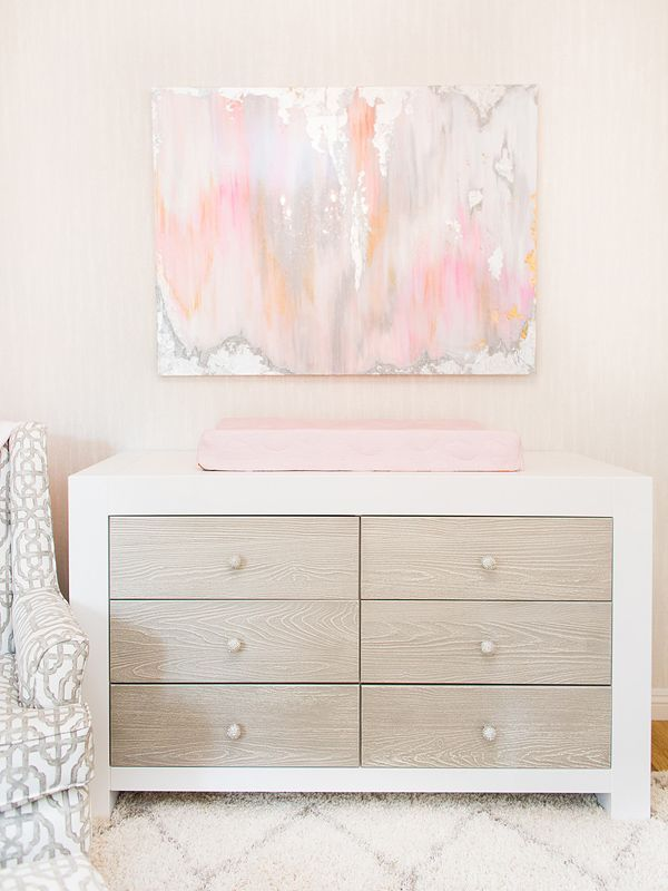 The former Bachelorette, 31, is expecting her first child with fiancé Kevin Manno in July. And to prepare for her daughter's arrival, she worked with celebrity nursery designer Vanessa Antonelli to create the perfect blush-and-cream space for her baby girl.