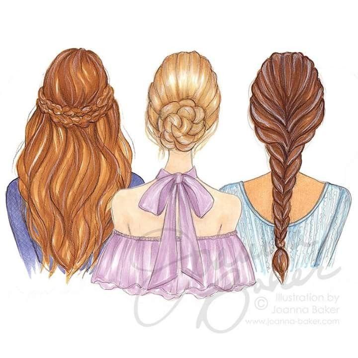 Girly Drawings Best Friends 3