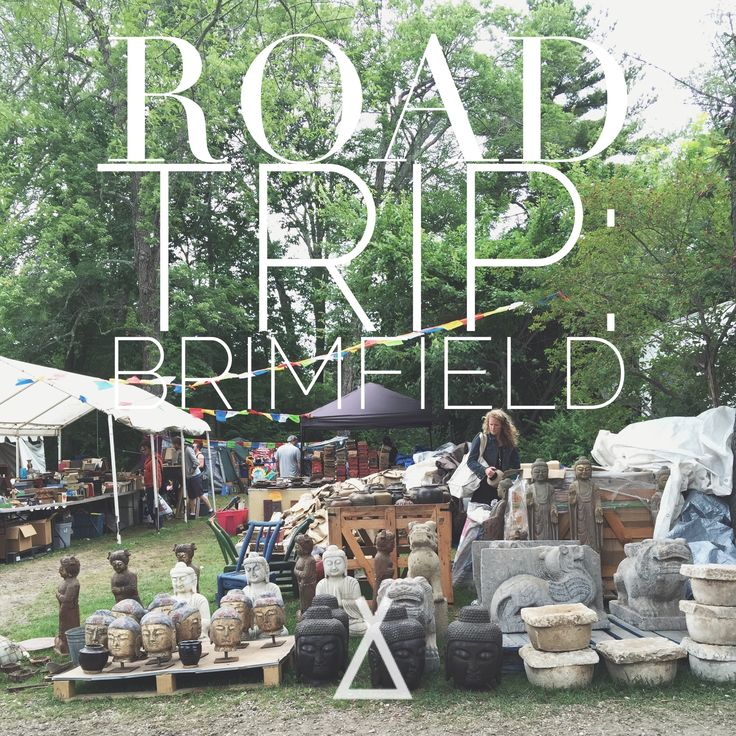 Click through to see our favorite booths from the Brimfield Antique Show and tips for making the most of your visit.