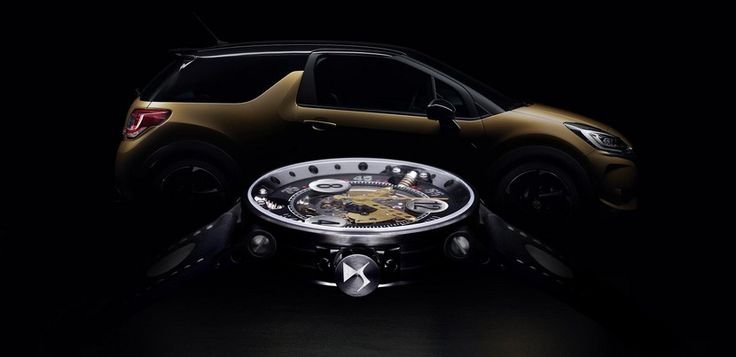 DS 3 Performance B.R.M. Chronographes, 39 unidades con reloj a juego - http://www.actualidadmotor.com/ds-3-performance-brm-chronographes-39-unidades-reloj/