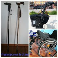 Blog Frauenpower trotz MS: Mutmacher-Poste über Hilfsmittel eines Betroffenen...