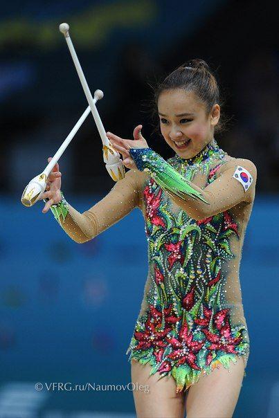 son yeon jae, Rhythmic Gymnastics costume inspiration for Sk8 Gr8 Designs
