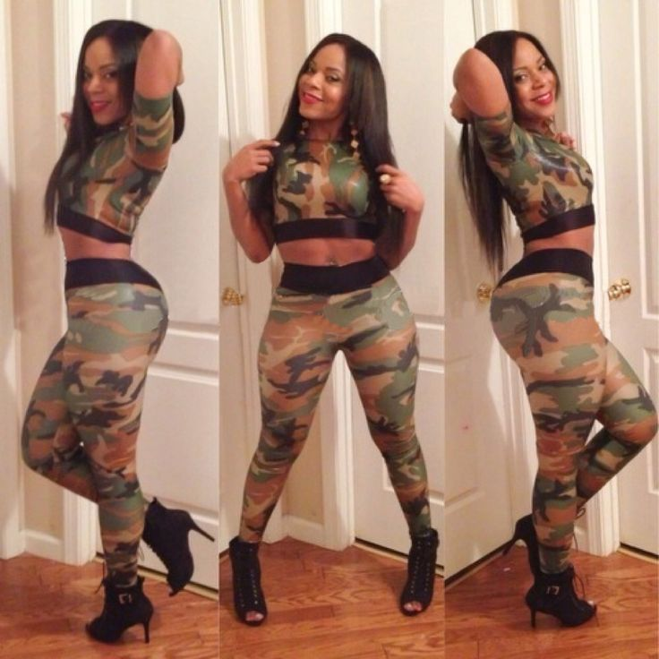 New Style Fabric Print  Clubwear Women Jumpsuits And Rompers 2014 Fashion Sexy Camouflage 2 piece Elegant Jumpsuit $28.00