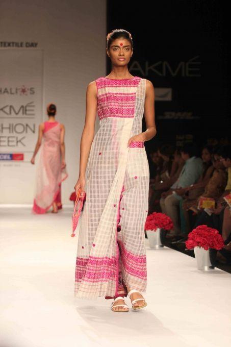 Soumitra Mondal Show at LFW Summer Resort 2013 - Boldsky Gallery
