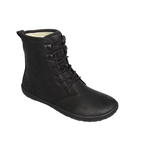 Our most popular women's Winter barefoot shoe, Gobi Hi Top is a versatile lace-up ankle boot. Made from Wild Hide leather with a high quality faux shearling lining, Gobi Hi Top is a minimalist shoe that's designed to be worn every day, in every type of cold weather.