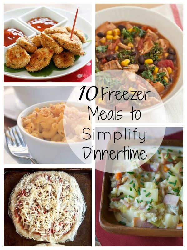 10 Freezer Meals to Simplify Dinnertime | Tipsaholic.com #dinner #cooking #freezer #makeahead