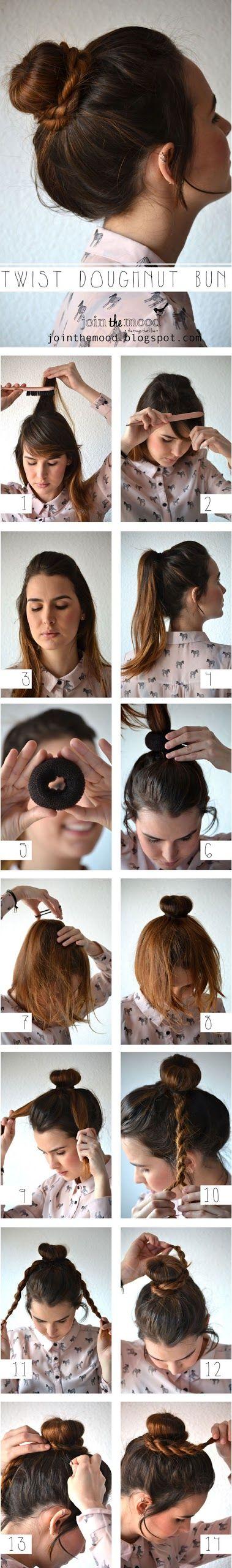 Cebolla peinado, peinados faciles♡