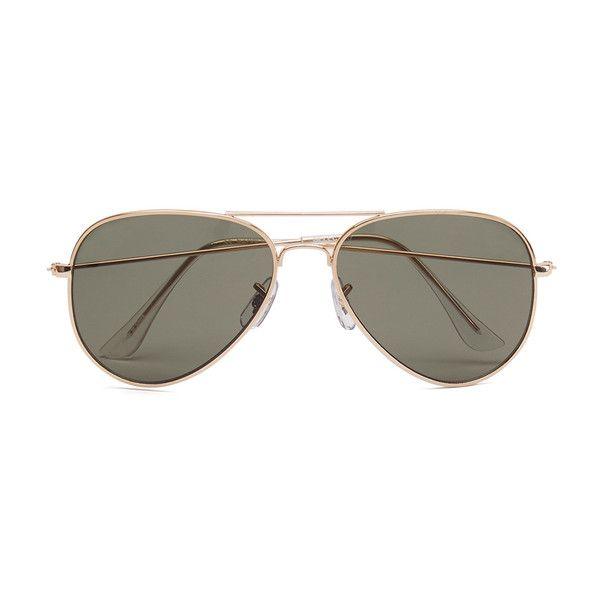 Selected Homme Men's Alberto Aviator Sunglasses ($18) ❤ liked on Polyvore featuring men's fashion, men's accessories, men's eyewear, men's sunglasses, glasses, accessories, men, oculos, mens sunglasses and mens aviators