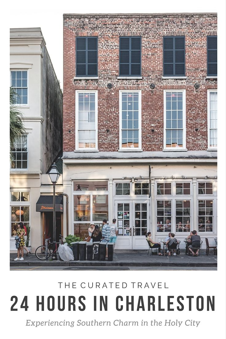 Be completely charmed by Charleston. Check out our itinerary for 24 hours in Charleston. #Charleston   #travel
