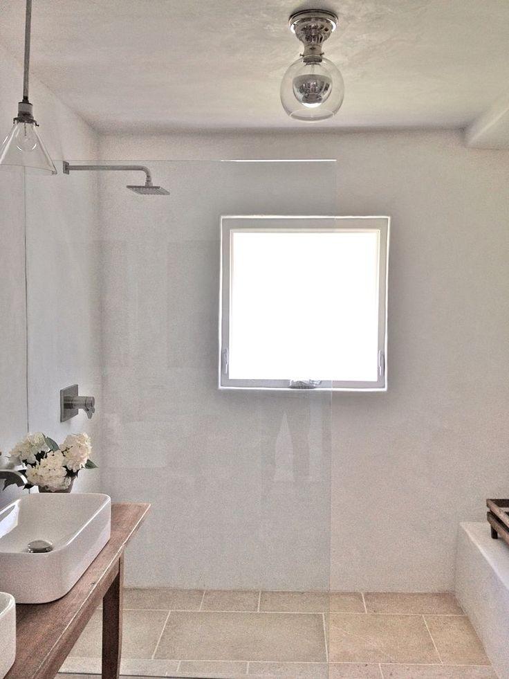 acrylic panels for bathroom walls%0A Walls are waterproof pool plaster Brooke Giannetti Good Idea