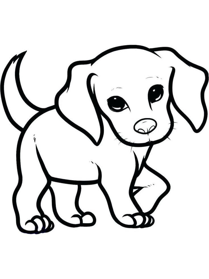 35+ Free puppy dog coloring pages ideas