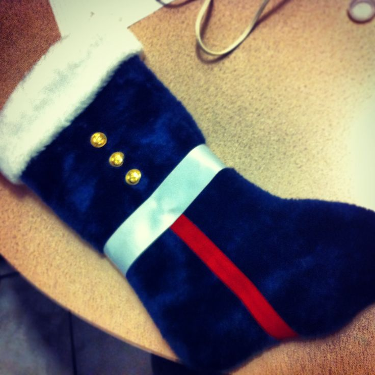 Made a Christmas stocking for my soon to be marine!