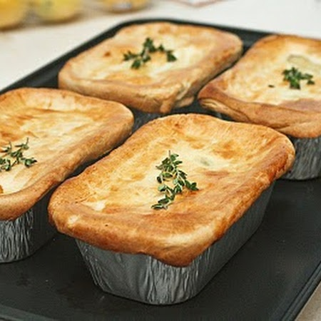Individual Chicken Pot pies | New Recipes | Pinterest