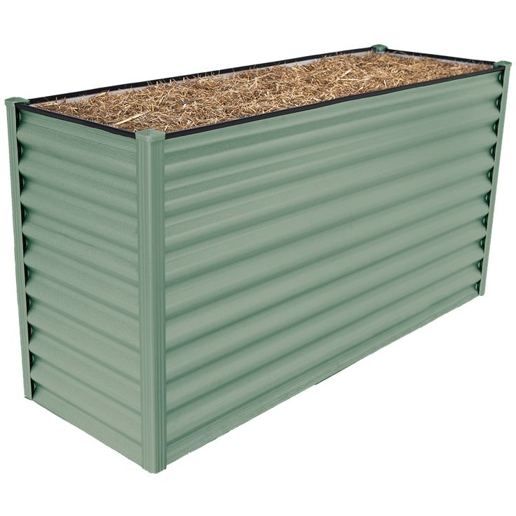 Find Birdies 1.5 x 0.55m x 740mm Pale Eucalypt Corrugated Steel Designer Range Garden Bed at Bunnings Warehouse. Visit your local store for the widest range of garden products.