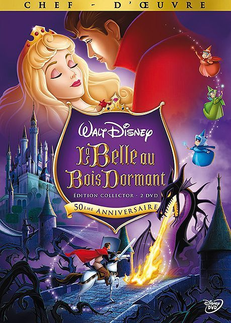 Dvd La Belle Au Bois Dormant de Disney