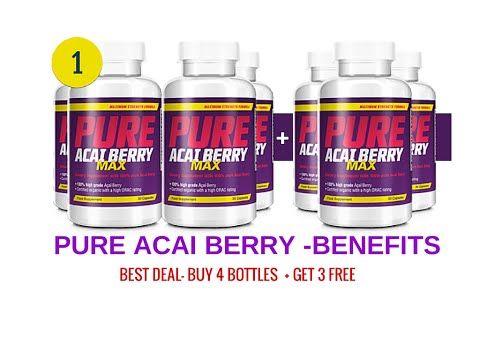 Acai Berries Benefits-Pure Acai Benefits For Health - YouTube http://beautyandskincarereviews.com/pure-acai-berry-benefits-acai-benefits-health/