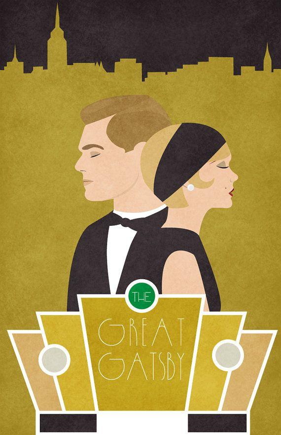 Der große Gatsby - 11 x 17 poster