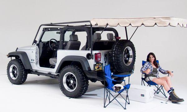 jeep cargo rack ladder | Wild Boar JK Jeep rack for 2 door Jeeps