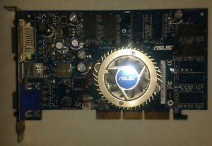 a asus v9570le agp 8x 128mb graphics card tarjeta grafica