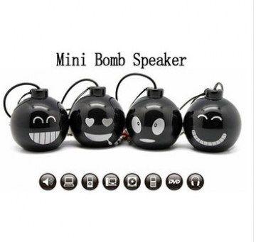 Mini bomb speakers