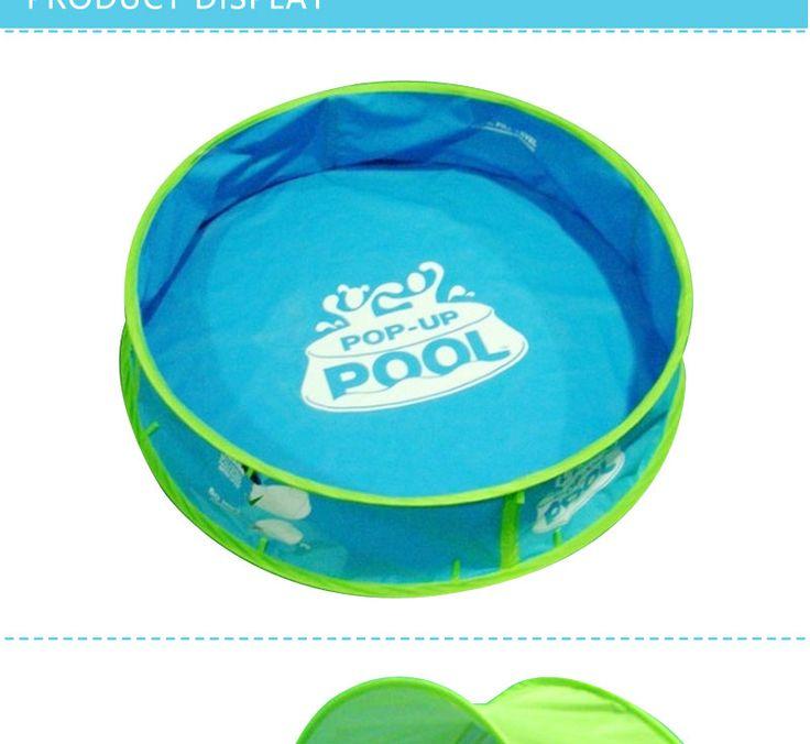 Складной Большой ПВХ Детский #Бассейн для Детей, Чтобы Играть С Мячом Океана Размер Бассейна 97*23*63 купить на #AliExpress #Дети #природа #отдых #лето http://s.click.aliexpress.com/e/7YjEeQJe6