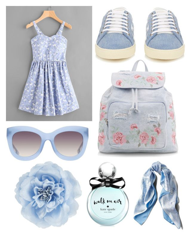 """""""Senza titolo #771"""" by kirsten-weigh on Polyvore featuring moda, Yves Saint Laurent, New Look, Alice + Olivia, Asprey, Monsoon e Kate Spade"""