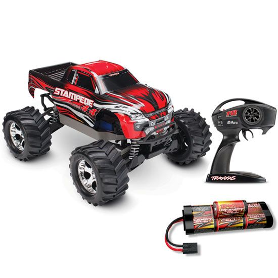 Traxxas Stampede 4x4 2.4GHz 1:12 RTR Electric RC Truck