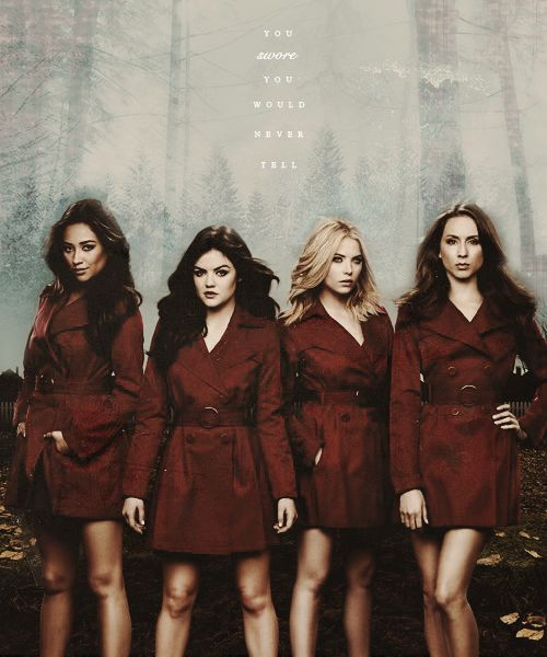 pretty little liars pictures of the cast | Pretty Little Liars TV Show cast