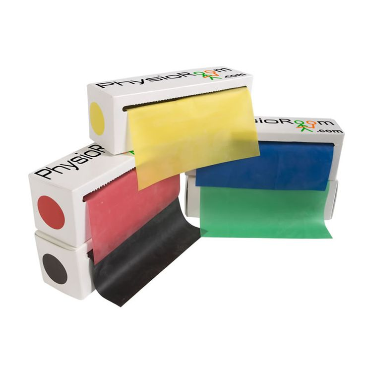 PhysioRoom.com                         5.5m x15cm Resistance Band Box - Choose between 5 Levels