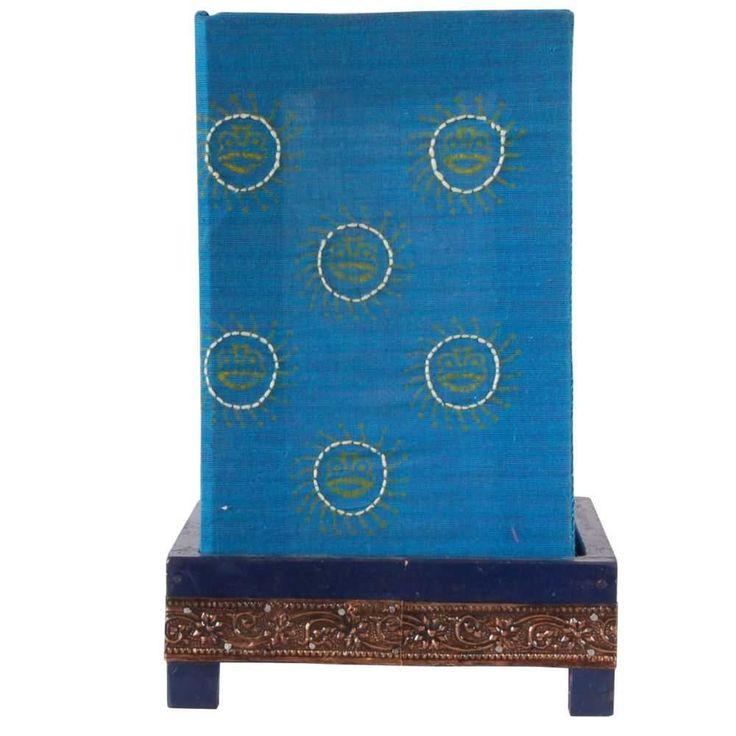 Pithora Table Lamp - Blue