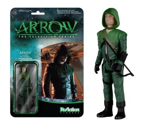 Funko ReAction Arrow Green Arrow Action Figure