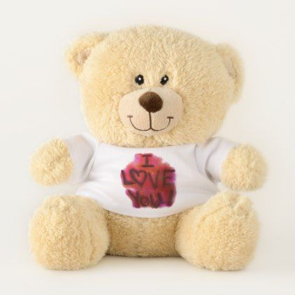 No Surprise Here Valentines Day Teddy Bear - home gifts ideas decor special unique custom individual customized individualized