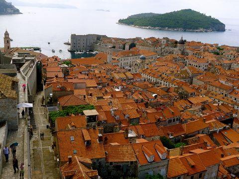 Dubrovnik: Fels in der Brandung Bild: Andrea Schraml