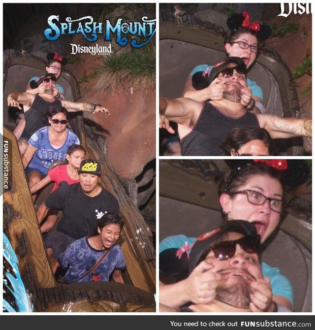 'Go to Disneyland' they said... 'It'll be fun' they said