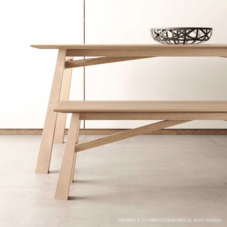 Solid Wood Dining Table, Wooden dining table,