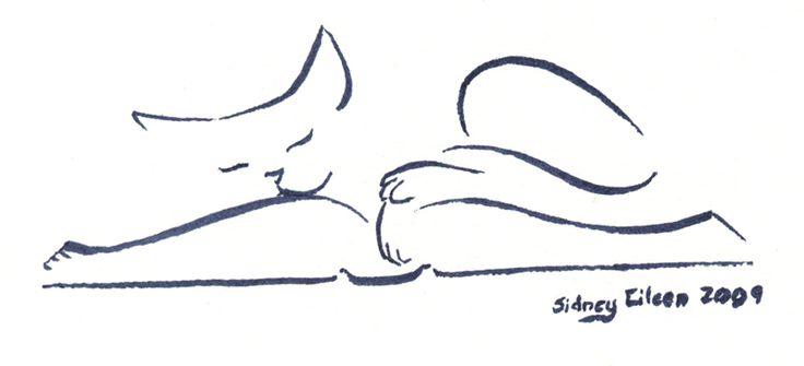 M. Cat On Book 1 by =sidneyeileen on deviantART