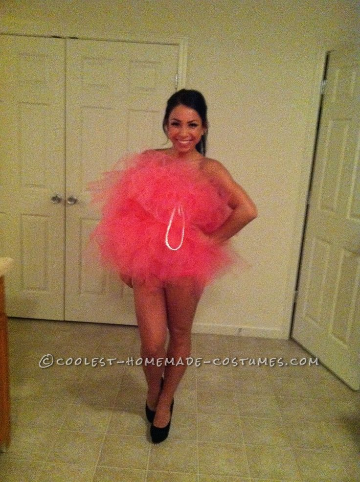 Sexy (and Easy!) Loofah Costume for the Ladies… Enter the Coolest Halloween Costume Contest at http://ideas.coolest-homemade-costumes.com/submit/
