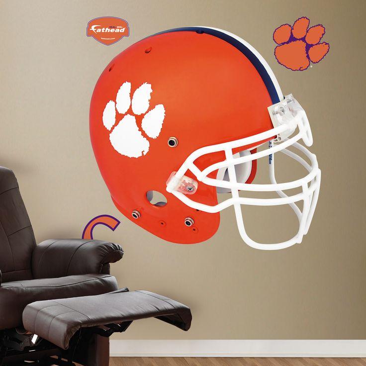 Clemson tigers helmet clemson tigers college sports