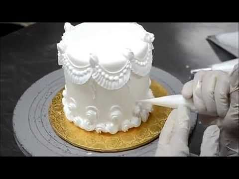 Cómo decorar un pastel - Tutorial Decorando con Royal Icing - YouTube