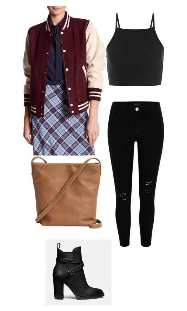 Tori Vega Style ♡ by camibg on Polyvore featuring polyvore mode style Marc Jacobs River Island Coach BAGGU fashion clothing