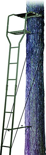 Ameristep Warrior Ladder Stand, 15-Feet http://huntinggearsuperstore.com/product/ameristep-warrior-ladder-stand-15-feet/ This product is a 15′ basic ladder stand Purpose of use for extension ladders, extension-ladders Manufactured in china
