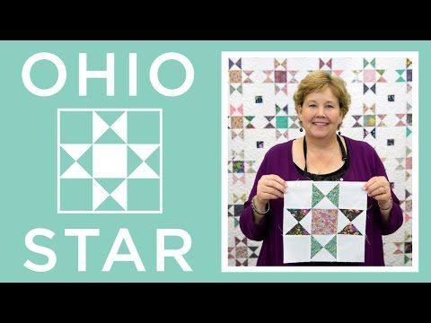 The Ohio Star Quilt - YouTube
